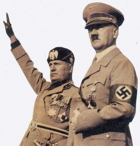 Benito Mussolini & Adolf Hitler